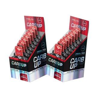 2x Carb Up Black Gel - Caixa 10un - Morango - Probiótica