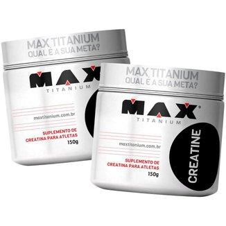 2x Creatina 150g - Max Titanium