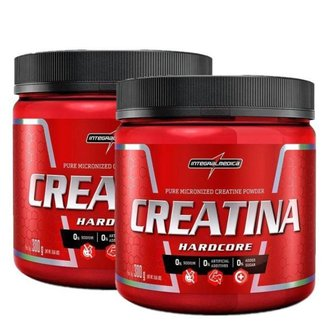 2x Creatina 300g Integralmedica