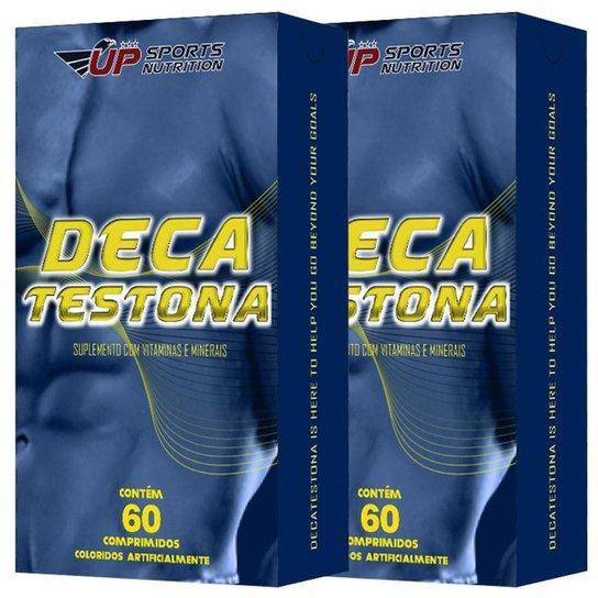 2x Deca Testona com 60 comprimidos cada Up Sports Nutrition -