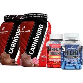 2x Isolate Protein 900g + Thermo Abdomen + Night Abdomen