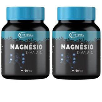 2x Magnésio Dimalato 500mg Itaervas