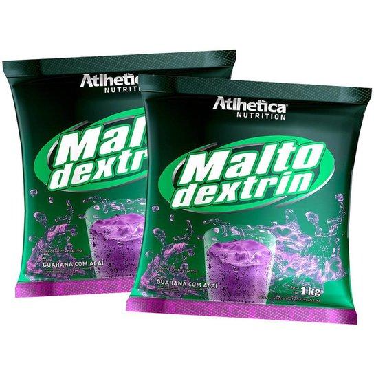2x Malto Dextrina 1kg - Guaraná com açaí - Atlhetica Nutrition -