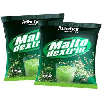 2x Malto Dextrina 1kg - Limão - Atlhetica Nutrition