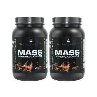 2X MASS HIPERCALORICO 1,5KG CHOCOLATE - POWER