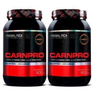 2X Proteina Da Carne Carnpro 900g Probiótica