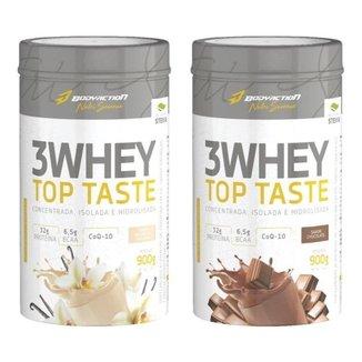 2x  Whey 3W Top Taste 900g - Body Action