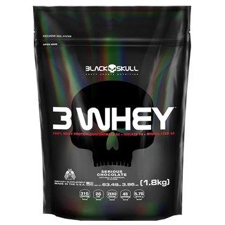 3 Whey Protein Black Skull 1,8 Kg