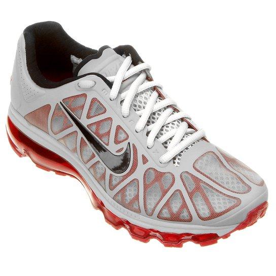 wholesale dealer 0597c d6314 Tênis Nike Air Max 2011 - Cinza+Vermelho