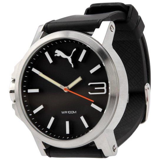 f396840616426 Relógio Puma Ultrasize - Preto+Prata