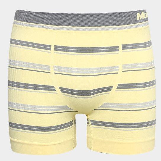 9ff4bdc16 Cueca Mash Boxer Sem Costura Listrada - Amarelo Claro - Compre Agora ...