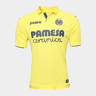 e1422fac0780f Camisa Villarreal Home 17 18 s n°- Torcedor Joma Masculina