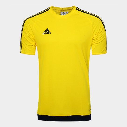 6599a82584153 Camisa Adidas Estro 15 Masculina - Amarelo - Compre Agora