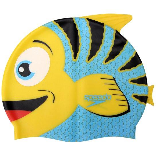 Touca Infantil Speedo Fish - Amarelo - Compre Agora  c22c672e05f