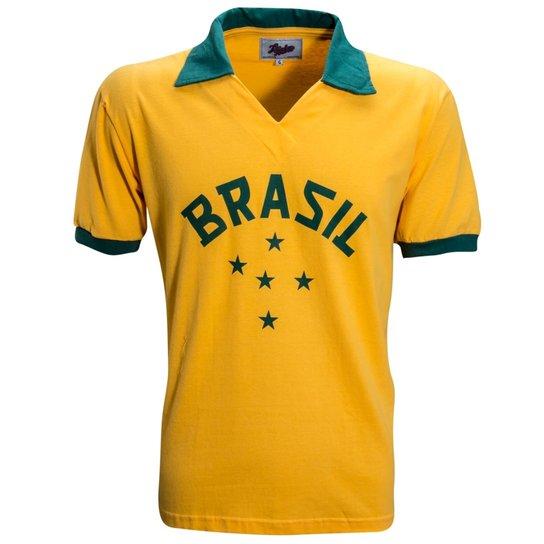 Camisa Liga Retrô Brasil 1952 - Compre Agora  99f221378cdf6