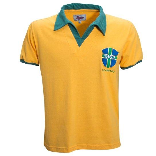 7cfe2381a71 Camisa Liga Retrô Brasil 1962 - Compre Agora