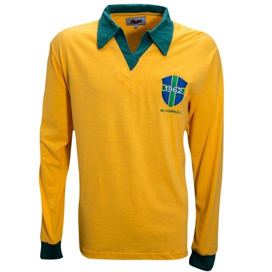 974f2481a08 Camisa Liga Retrô Brasil 1962 Longa - Compre Agora
