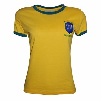 Camisa Liga Retrô Brasil 1970 F b849438ffb9eb