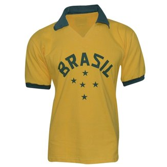 Camiseta Retrô Brasil Liga Retrô 1952 8d7d9b6c0713a