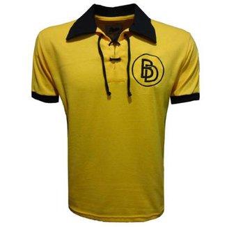 Camisa Liga Retrô Dortmund cidade 1948 Masculina 8a502c2123121