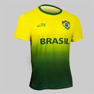 Camisa Degradê Torcida do Brasil Beme Masculina c618b5e838c70