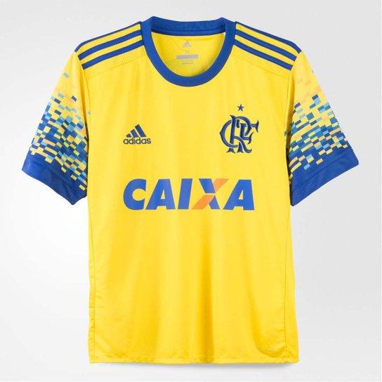 250380a252 Camisa Flamengo Infantil Oficial Jogo 3 Adidas 2017 - Compre Agora ...
