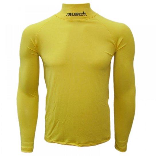 5be319b914b0e Camisa térmica Reusch Underjersey G A - Amarelo - Compre Agora ...