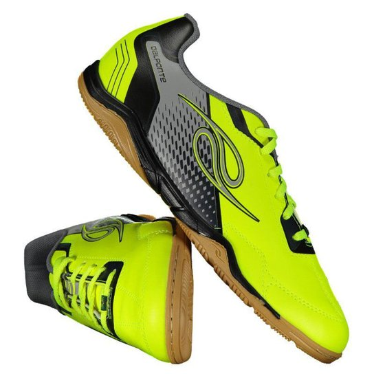 Chuteira Futsal Dalponte Class Masculina - Amarelo - Compre Agora ... 327959163a960