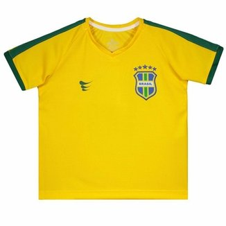 040a078e7 Camisa Super Bolla Brasil Pró 2018 Juvenil N° 10