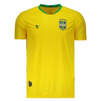 Camisa Super Bolla Brasil Pró Jogador 2018 Masculina f7d5d5f5b49
