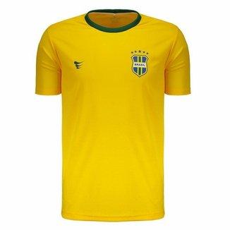 Camisa Super Bolla Brasil Fan 2018 Masculina 9e6e3940f6f51