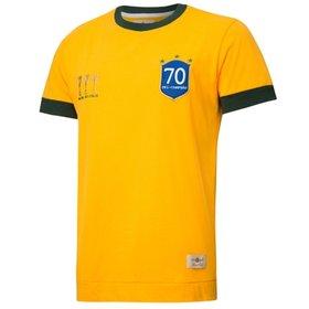 Camiseta Nike Seleção Brasil Retrô - Compre Agora  bc2560a8939c2
