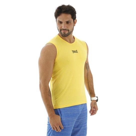 3779f49f80 Camiseta Machão Dry Everlast - Amarelo