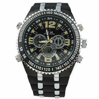 c805bda293d Relógio Weide Anadigi WH-1107