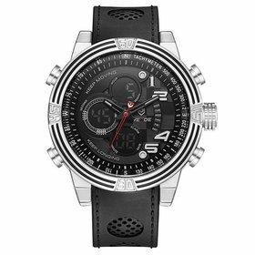 848a3dac8c7 Relógio Weide Anadigi WH-6308 Amarelo - Preto e Amarelo - Compre ...