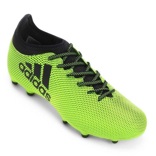 8d12fbbc92b44 Chuteira Campo Adidas X 17.3 FG - Amarelo - Compre Agora