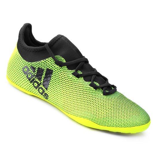 Chuteira Futsal Adidas X 17.3 IN - Verde claro - Compre Agora  a9012b2daefea
