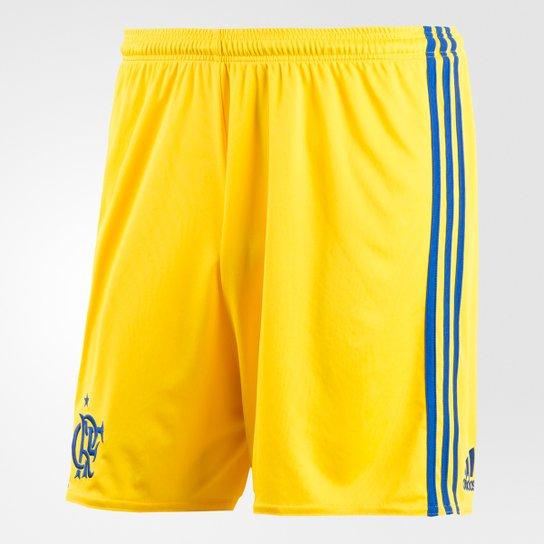 Calção Flamengo III 17 18 Adidas Masculino - Compre Agora  870b8fccde688