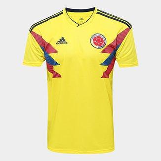 1d7b67210f653 Camisa Seleção Colômbia Home 2018 s n° Torcedor Adidas Masculina