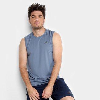 204a880ced8 Compre Camiseta Regata Adidas Masculino Online