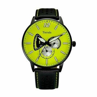 5239ee354ad Relógio Tierxda Analógico 5273G Amarelo
