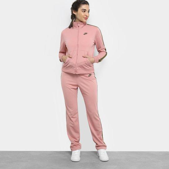 895066f442 Agasalho Nike Pk Oh Feminino - Pink e Branco - Compre Agora