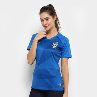 c2d9c24fb3 Camisa Seleção Brasil II 2018 s n° - Torcedor Nike Feminina
