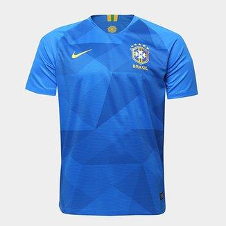 20f27b3388ce0 Camisa Seleção Brasil II 2018 s n° - Torcedor Nike Masculina