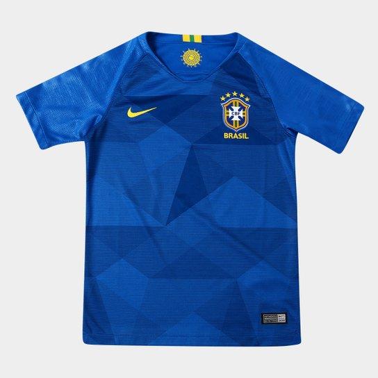 Camisa Seleção Brasil Juvenil II 2018 s n° - Torcedor Nike - Compre ... e18f76cc495ce