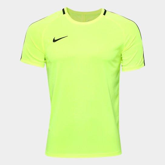 7322844d8b Camisa Nike Dry Academy Top SS Masculina - Verde Limão - Compre ...
