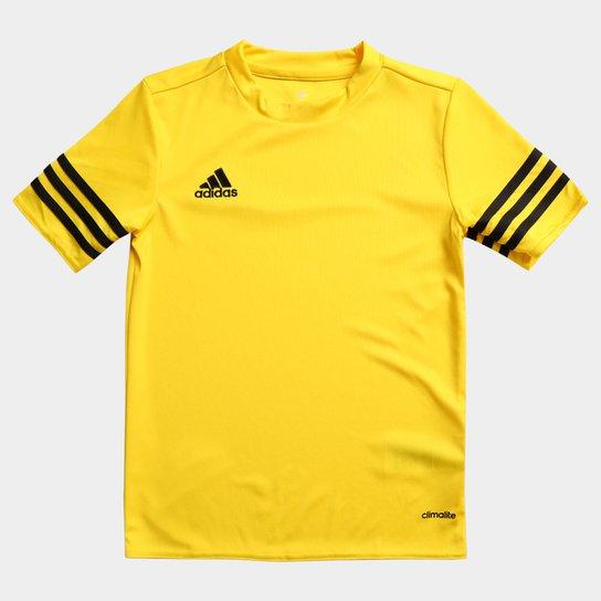 Camisa Infantil Adidas Entrada 14 - Amarelo - Compre Agora  2bc3ef724f7