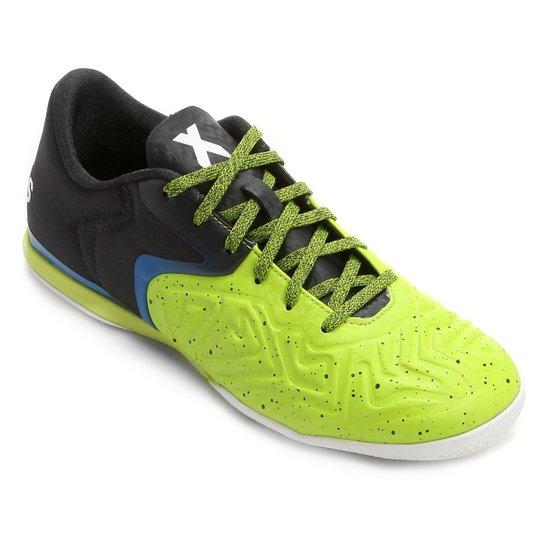 bcc81f5547 Chuteira Futsal Adidas X 15 2 CT Masculina - Verde Claro+Preto