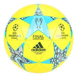 Bola Futebol Campo Adidas Finale Cardiff UEFA 2017 Capitano 5361bd9569786
