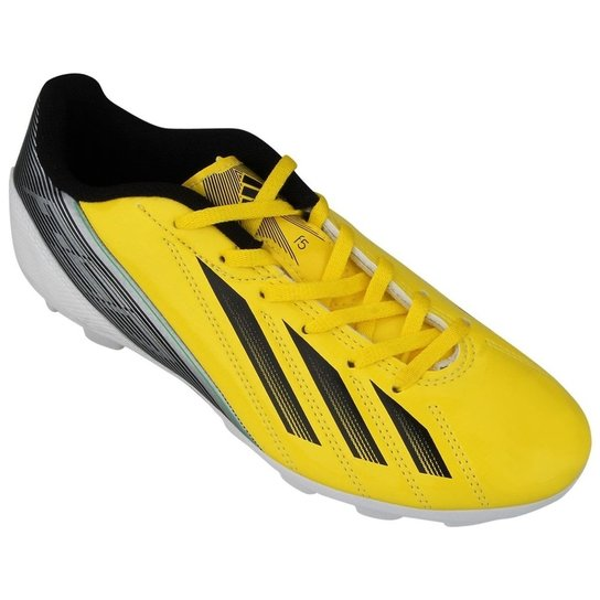 46ea6e6a182 Chuteira De Campo Adidas F5 Trx Fg - Amarelo E Preto - 43 - Compre ...